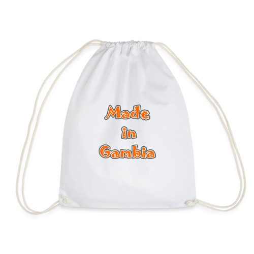 Made in Gambia - Drawstring Bag