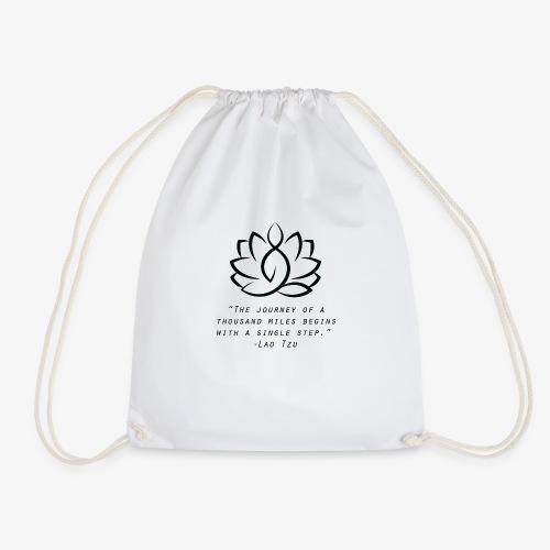 Travel quote 3 - Drawstring Bag