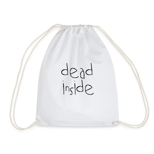 deadblack - Drawstring Bag