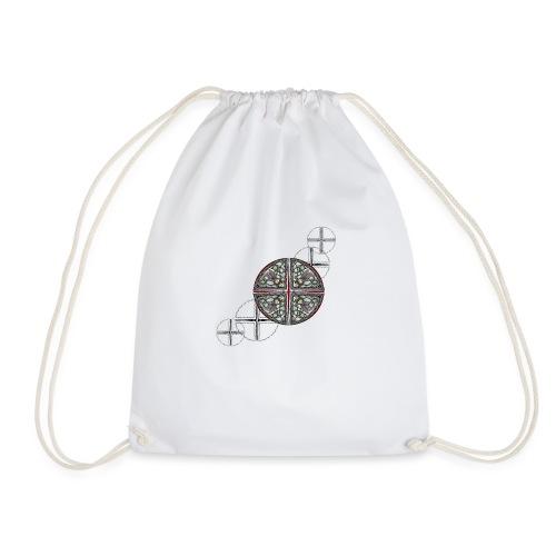 Archangel Michael Swash - Drawstring Bag