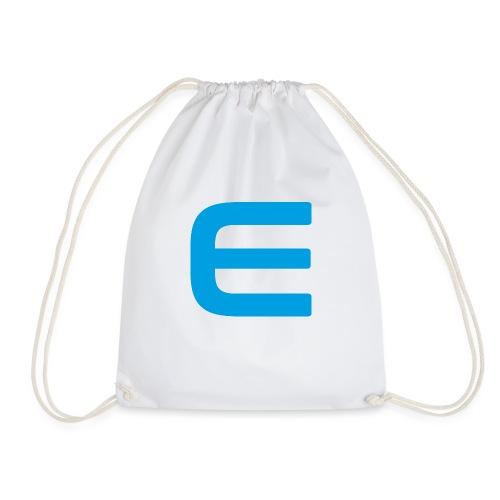 E - Blau - Turnbeutel