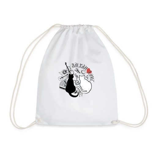 BALKAN LOVE - Drawstring Bag