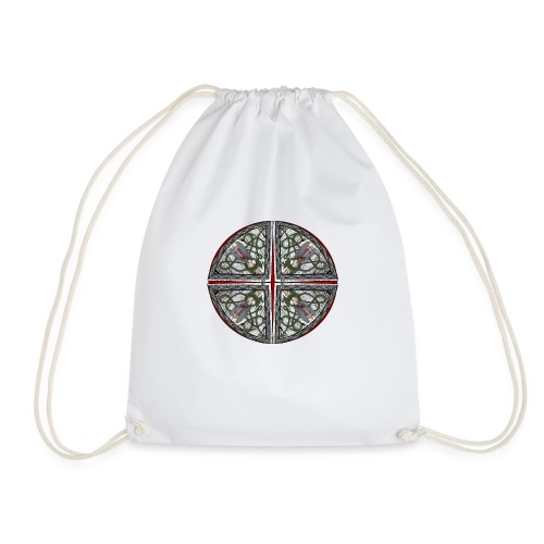 Archangel Michael Disc - Drawstring Bag
