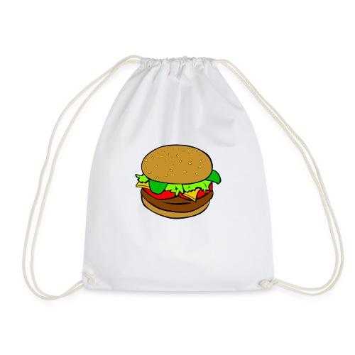 Hamburger motiv - Gymnastikpåse