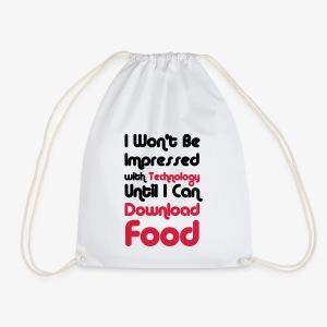 I wont be Impressed - Drawstring Bag