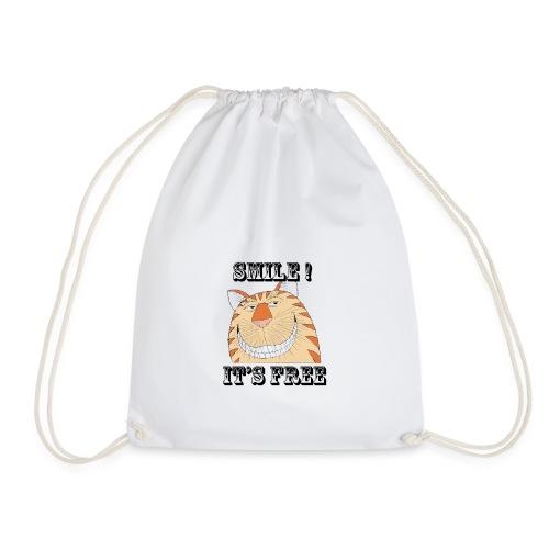 Smile 2 - Drawstring Bag