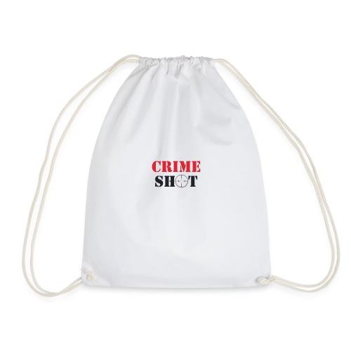Crimeshot logo - Drawstring Bag