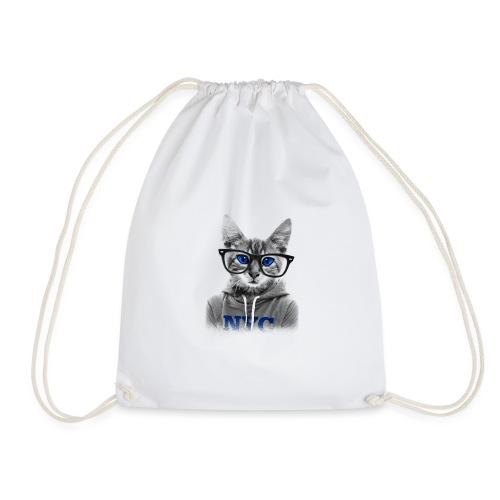 Nerdy Cat - Turnbeutel