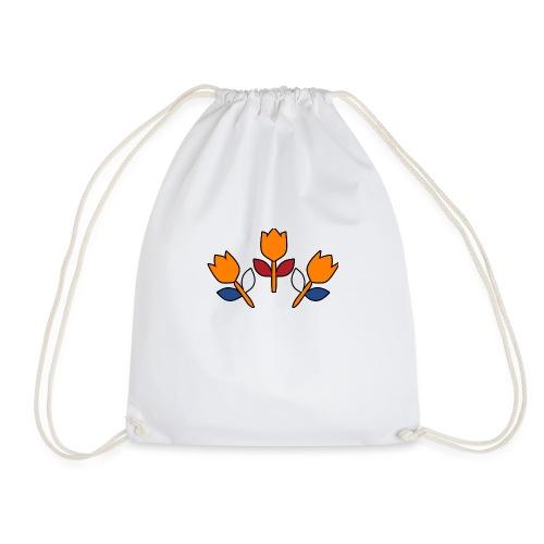bewares emblem tulips - Gymtas