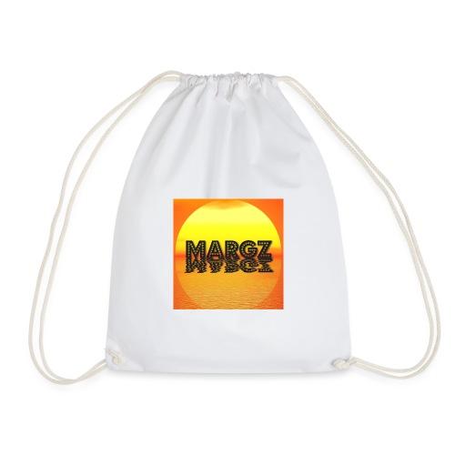 Sunset over Margz - Drawstring Bag