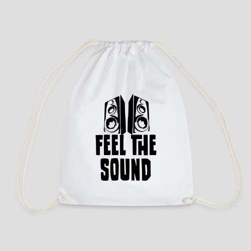 feel the sound - Turnbeutel