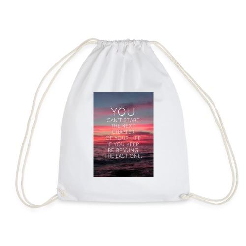 Life's next chapter - Drawstring Bag