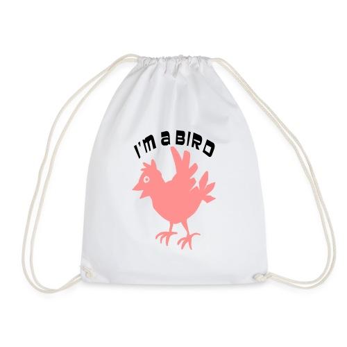 ik ben een vogel - Gymtas