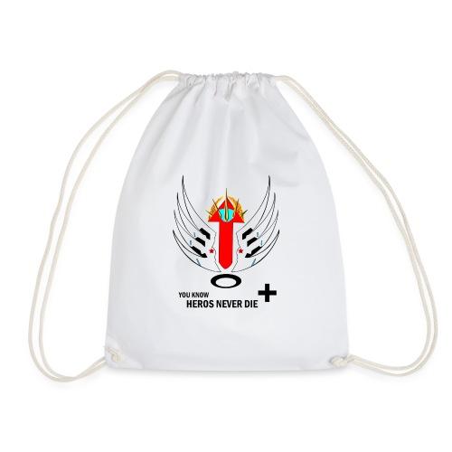 heroesneverdie - Drawstring Bag