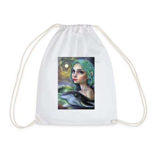 Whale Guardian - Drawstring Bag