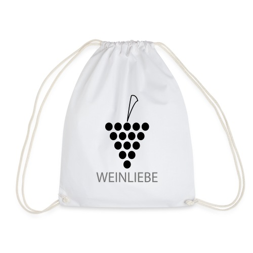 Weinliebe - Turnbeutel