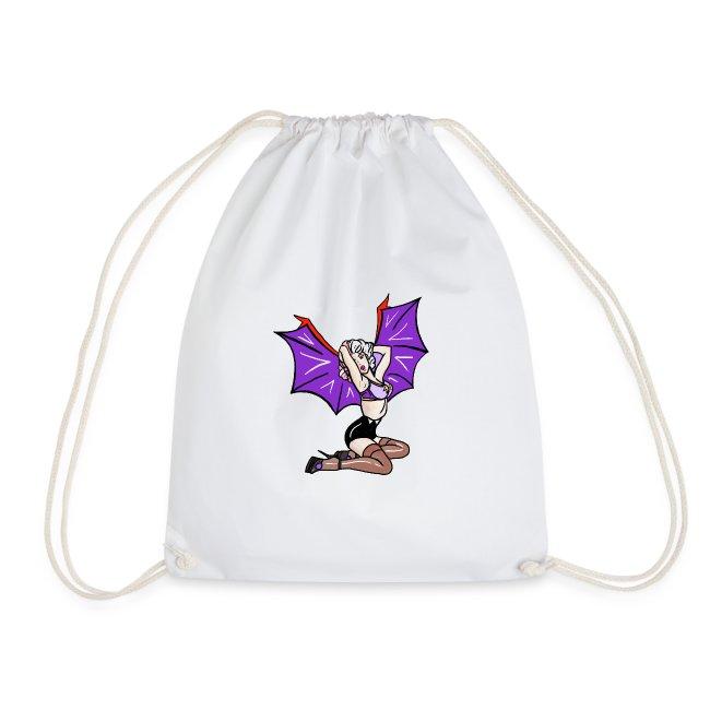 pin up vampire hillbilly rockabilly halloween bat