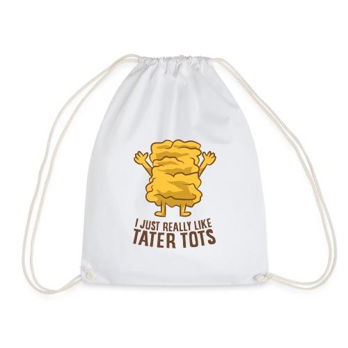 Hot taters potatoes recipe - Drawstring Bag