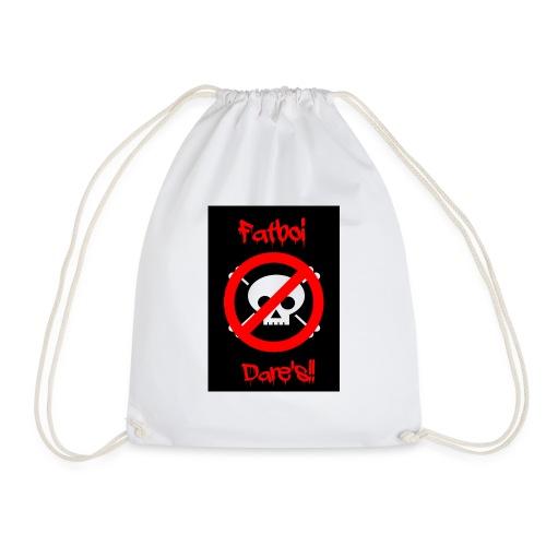 Fatboi Dares's logo - Drawstring Bag