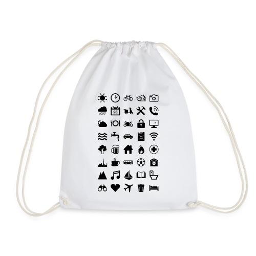 Travel Icons - Turnbeutel