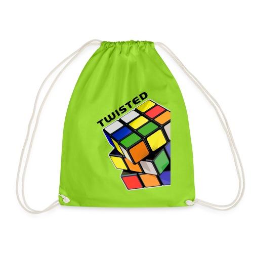 Rubik's Cube Twisted Sides - Gymnastikpåse