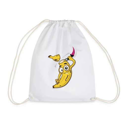 Banana Slice - Drawstring Bag