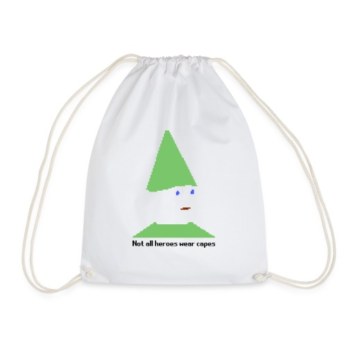 Not all heroes wear capes Cup - Drawstring Bag