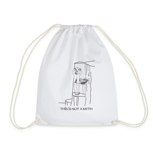 THIS IS NOT A MYTH! - Drawstring Bag