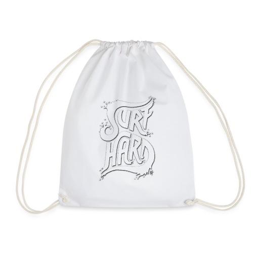 Surf Hard V1 - Drawstring Bag