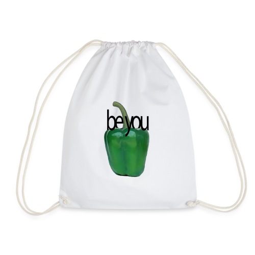 Pimiento verde/ green pepper. Be you - Mochila saco