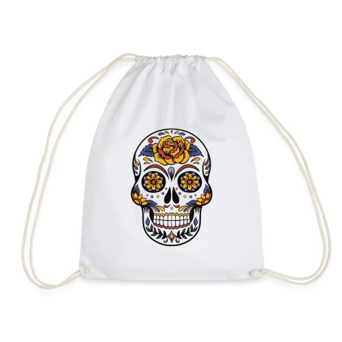 Mexican Skull - Drawstring Bag