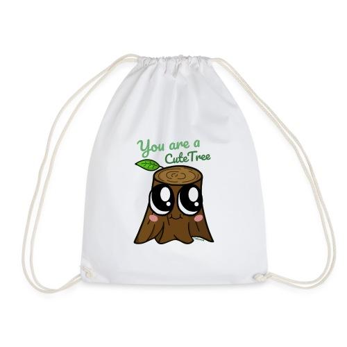 CuteTree - Drawstring Bag