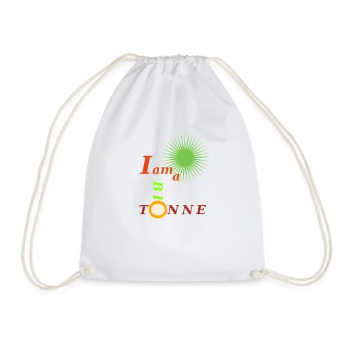 I a am Biotonne - Turnbeutel