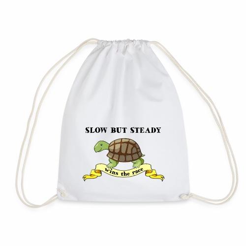 Slow but Steady - Gymnastikpåse