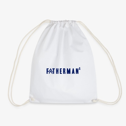 father's day t-shirt - fatherman1 - Drawstring Bag