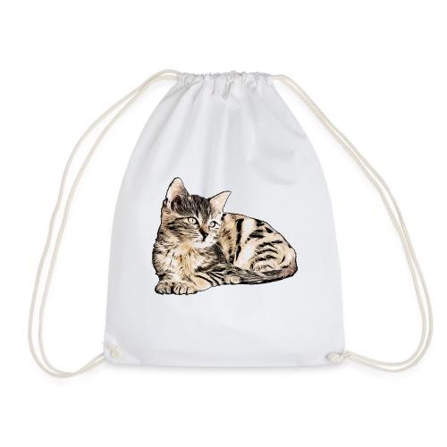 Süße Katze - GOutside - Turnbeutel