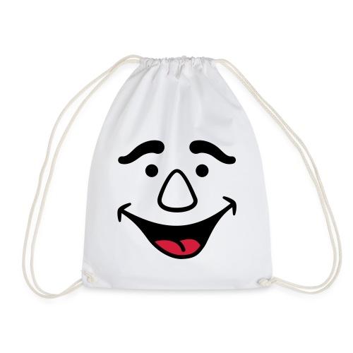 Laughing Face - Drawstring Bag
