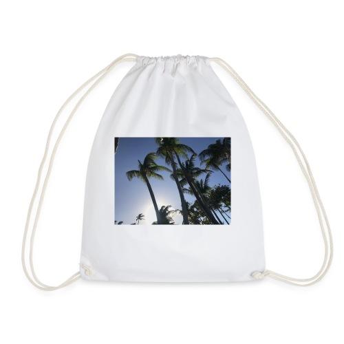 Karibik Palmen - Turnbeutel