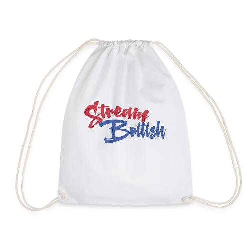 StreamBritish Logo - Drawstring Bag