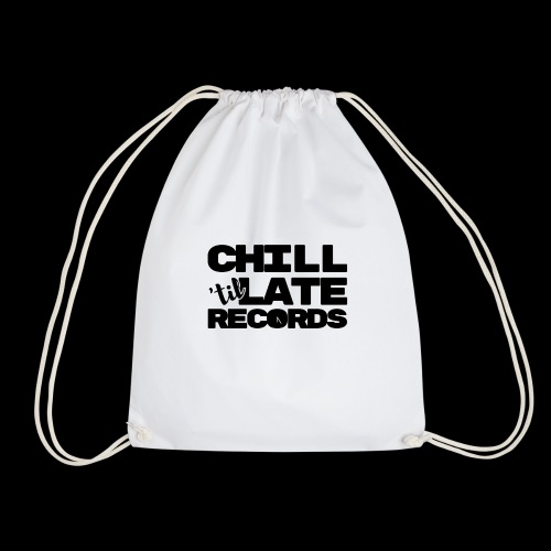 Chill Til Late Records - Drawstring Bag