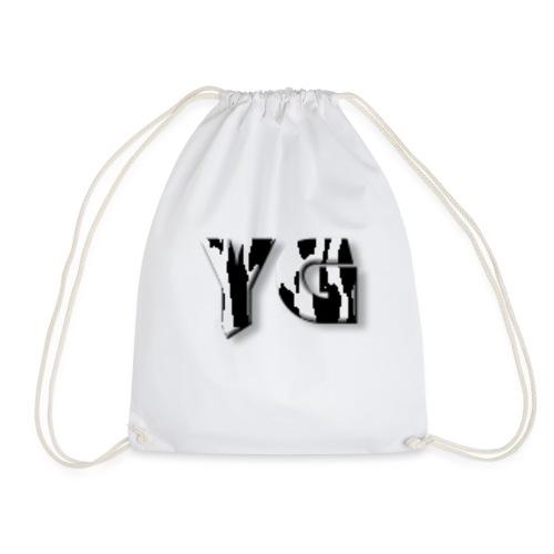young co new ink drop - Drawstring Bag