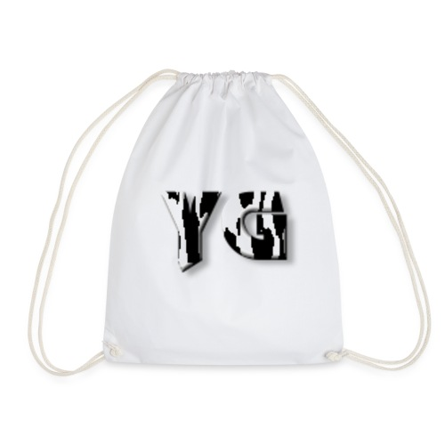 young co new ink drop - Drawstring Bag