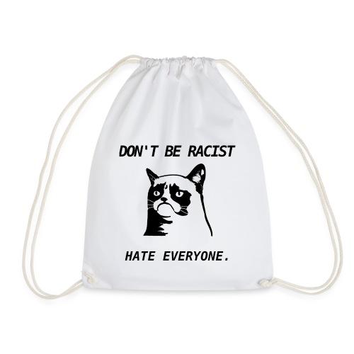 Grumpy Cat T-Shirt - Drawstring Bag