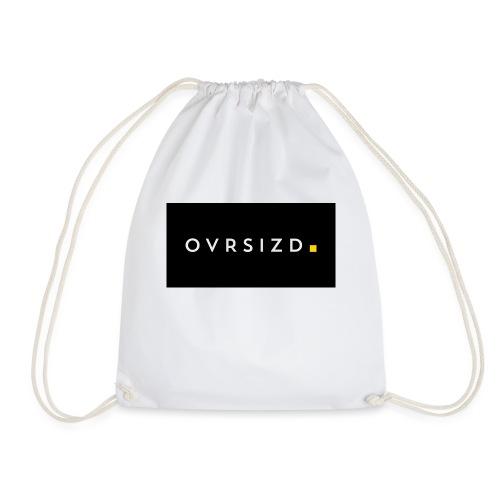 OVRSIZD logo - Drawstring Bag