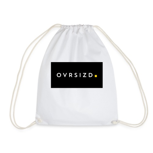 OVRSIZD logo - Drawstring Bag