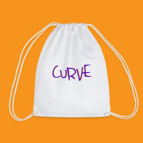 Curve - Drawstring Bag