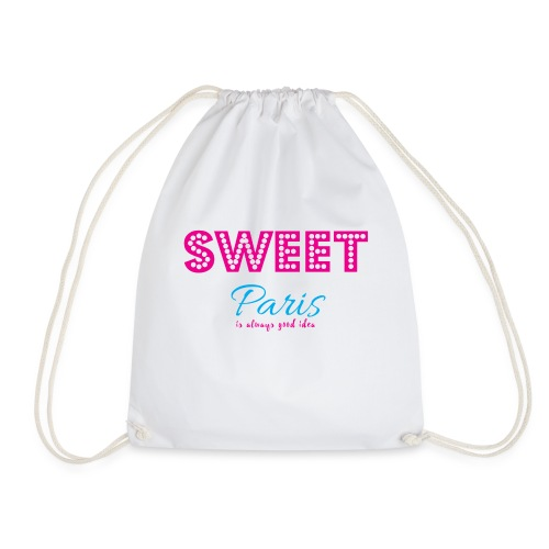 SWEET PARIS - Drawstring Bag