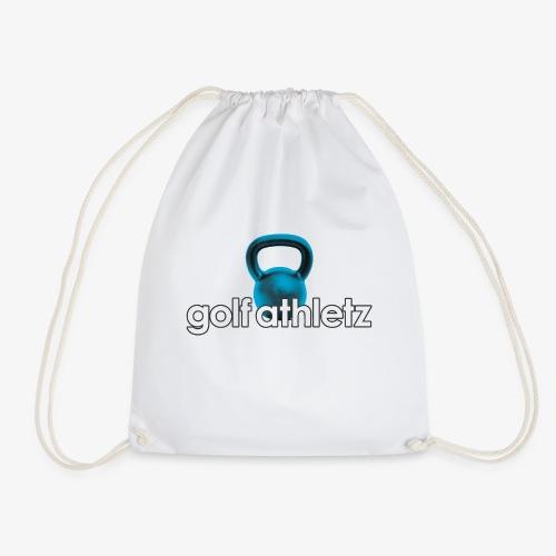 GOLF ATHLETZ - Kettlebell Trainings Sport Motiv - Turnbeutel