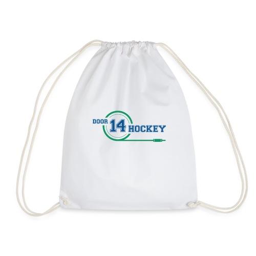 D14 HOCKEY LOGO - Drawstring Bag