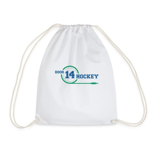D14 HOCKEY LOGO - Drawstring Bag